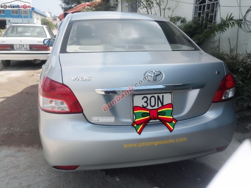 Xe Toyota Vios 1.5 G MT 2008