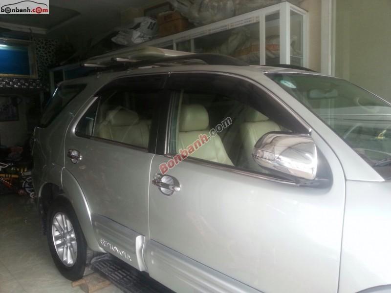 Xe Toyota Fortuner G 2012
