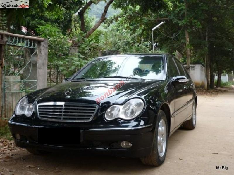 Xe Mercedes-Benz C class  2002