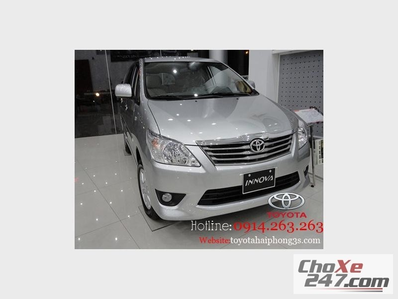 Xe Toyota Innova Mua     với mức giá tốt nhất tại  Hải Phòng 2014