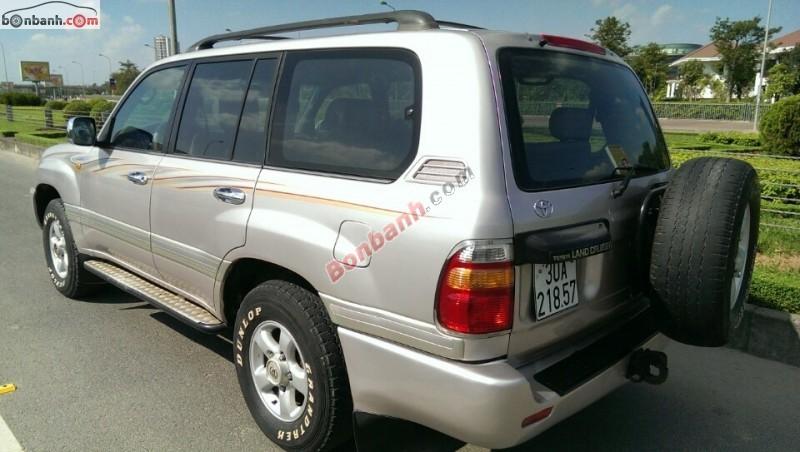 Xe Toyota Land Cruiser GX 4500EFI 2003