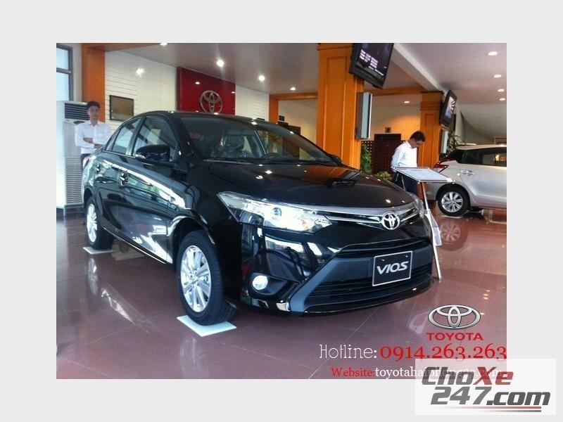 Xe Toyota Vios Hải Phòng đã chính thức ra mắt mẫu     với thiết kế mới 2014