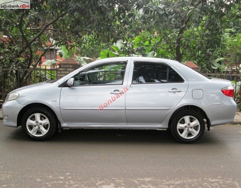Xe Toyota Vios 1.5G 2003