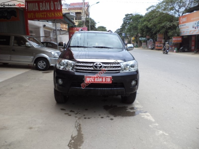 Xe Toyota Fortuner 2.5G 2011