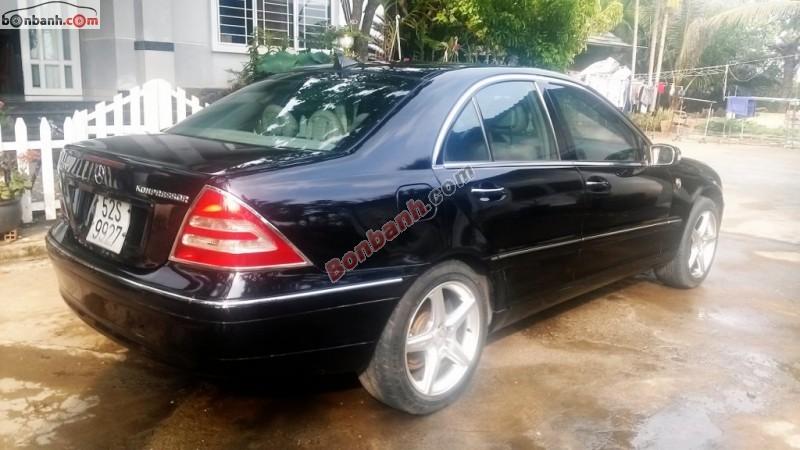 Xe Mercedes-Benz C class  2001