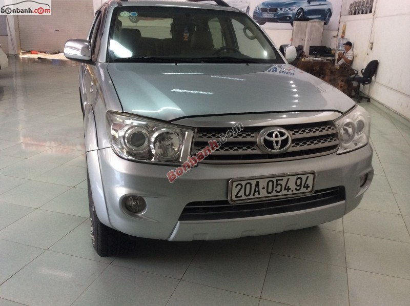 Xe Toyota Fortuner G 2009
