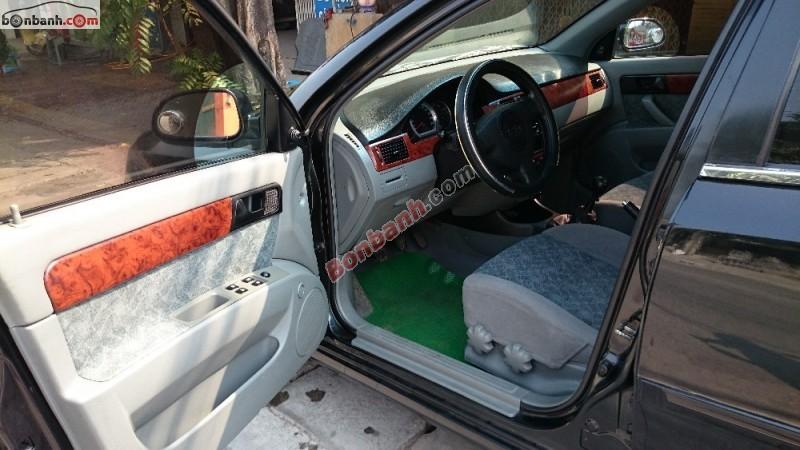 Bán Daewoo Lacetti EX đời 2010, màu đen xe gia đình