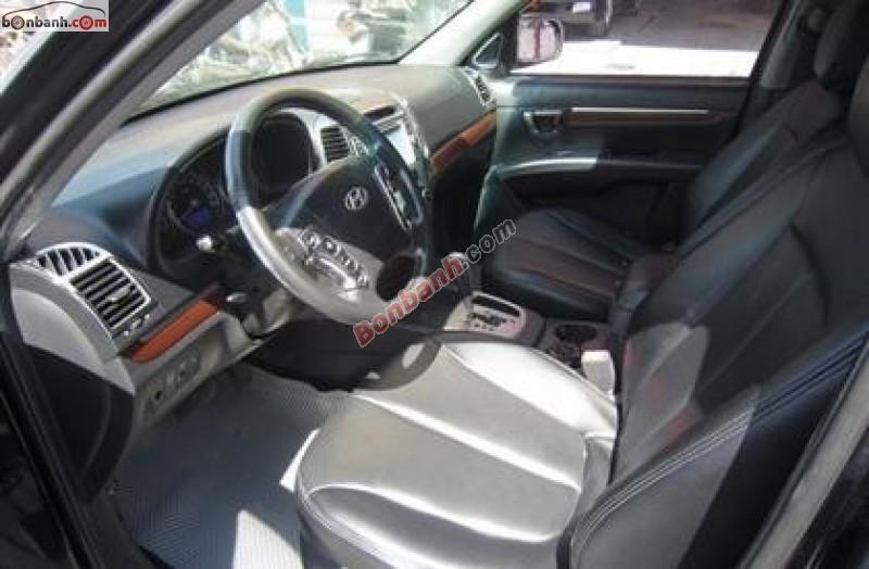 Bán Hyundai Santa Fe MLX 2008, màu đen, nhập khẩu số tự động