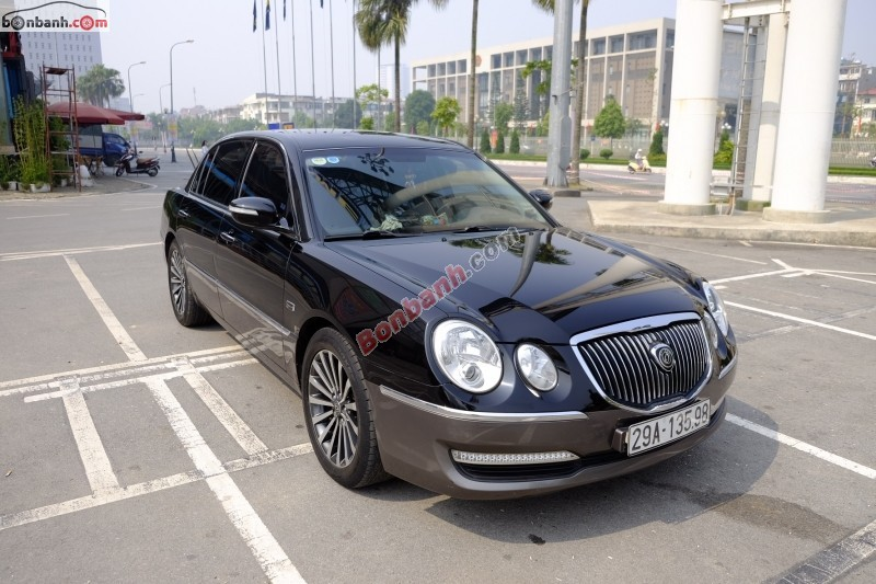 Cần bán xe Kia Opirus đời 2011, màu đen, nhập khẩu, giá tốt