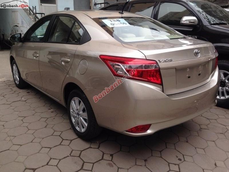 Bán xe Toyota Vios E đời 2015, 595 triệu