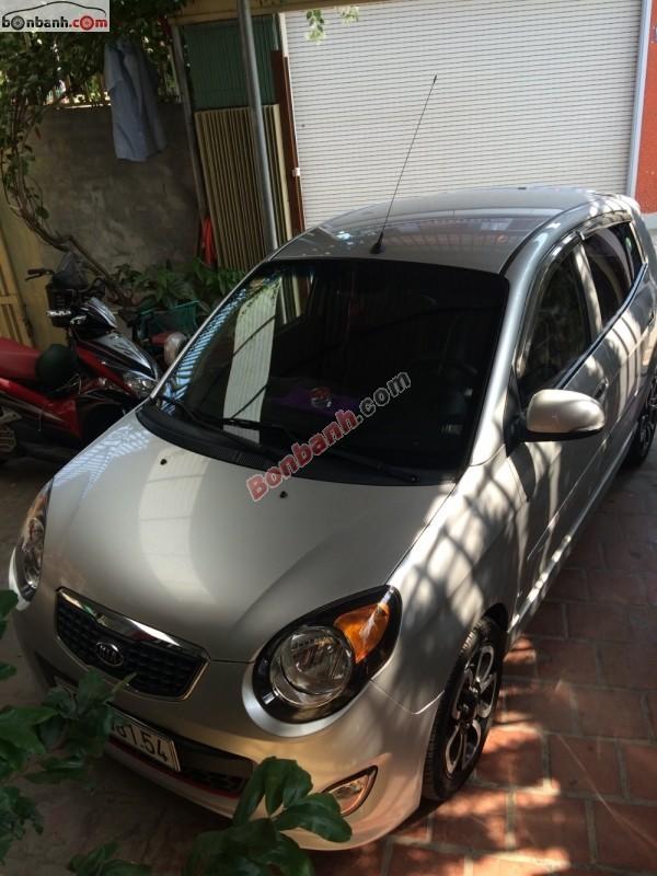 Xe Kia Morning sản xuất 2009, màu bạc, nhập khẩu chính chủ, giá tốt