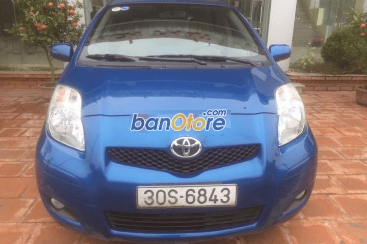 Xe Toyota Yaris G đời 2009, màu xanh lục, nhập khẩu chính hãng