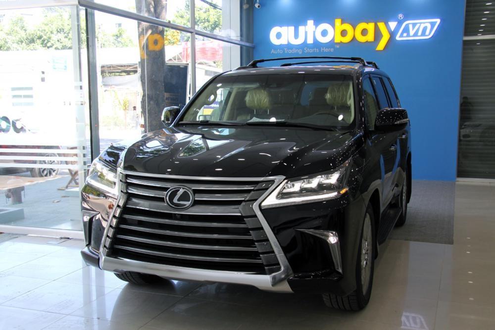 Cần bán xe Lexus LX đời 2015, màu đen, nhập khẩu