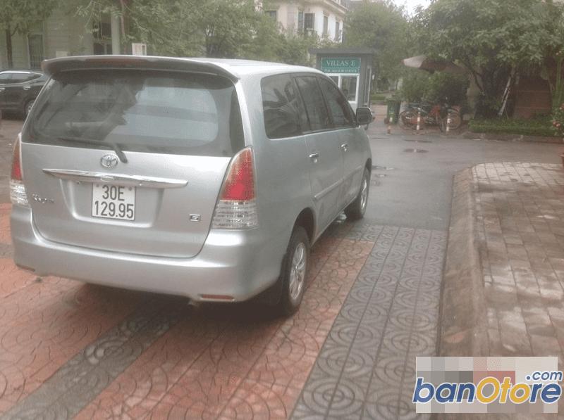 Cần bán xe Toyota Innova sản xuất 2009, màu bạc, 468 triệu