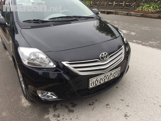 Bán ô tô Toyota Vios đời 2010, màu đen, nhập khẩu, xe gia đình giá cạnh tranh