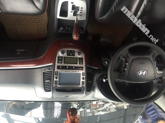 Bán ô tô Hyundai Santa Fe sản xuất 2008, màu đen, nhập khẩu, số tự động