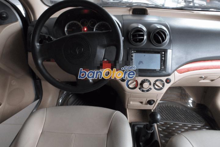 Cần bán Daewoo Gentra sản xuất 2009, màu bạc, số sàn
