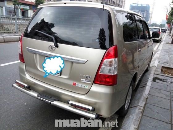 Bán Toyota Innova đời 2012, nhập khẩu chính hãng, số tự động, 685 triệu