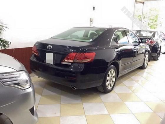 Cần bán xe Toyota Camry 2.4G đời 2009, màu đen, nhập khẩu chính hãng