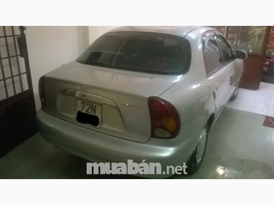 Cần bán gấp Daewoo Lanos năm 2004, màu bạc, xe nhập, chính chủ, giá chỉ 150 triệu