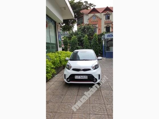 Cần bán lại xe Kia Morning Si đời 2016, màu trắng, nhập khẩu chính hãng, số tự động