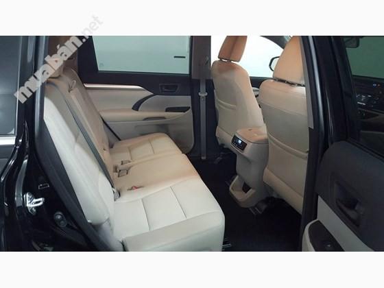 Cần bán Toyota Highlander đời 2016, màu đen, nhập khẩu nguyên chiếc
