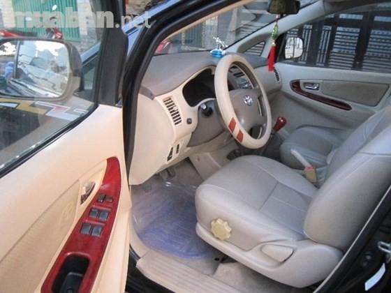 Xe Toyota Innova 2.0G đời 2006, màu đen, nhập khẩu chính hãng, xe gia đình
