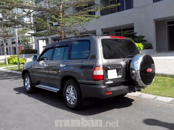 Bán xe Toyota Land Cruiser đời 2007, màu xám, nhập khẩu chính hãng, giá tốt