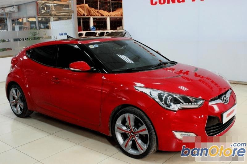 Cần bán xe Hyundai Veloster đời 2011, màu đỏ, số tự động
