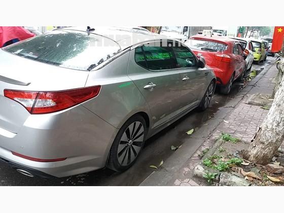 Cần bán lại xe Kia K5 đời 2012, màu bạc, xe nhập