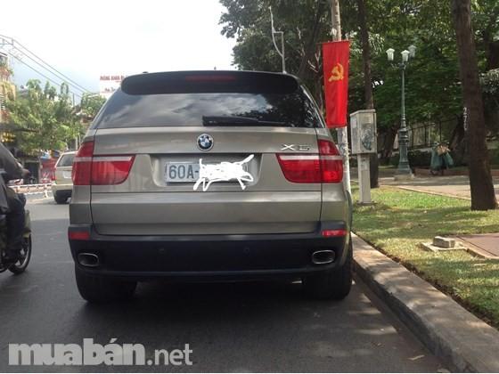 Cần bán gấp BMW X5 đời 2009, màu đen, nhập khẩu nguyên chiếc