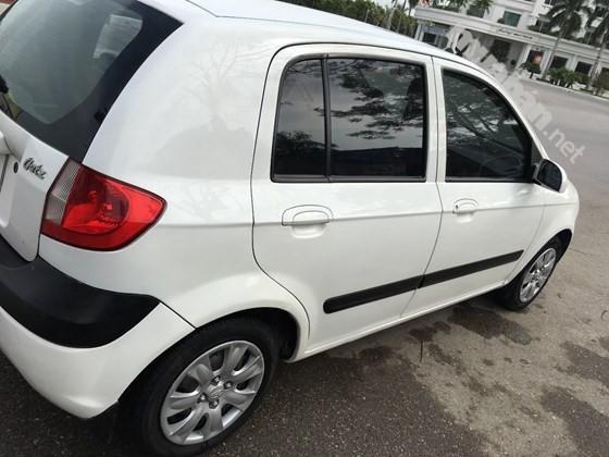 Cần bán lại xe Hyundai Getz năm 2009, màu trắng, nhập khẩu chính hãng, chính chủ
