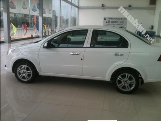 Cần bán Chevrolet Aveo đời 2016, màu trắng, nhập khẩu nguyên chiếc