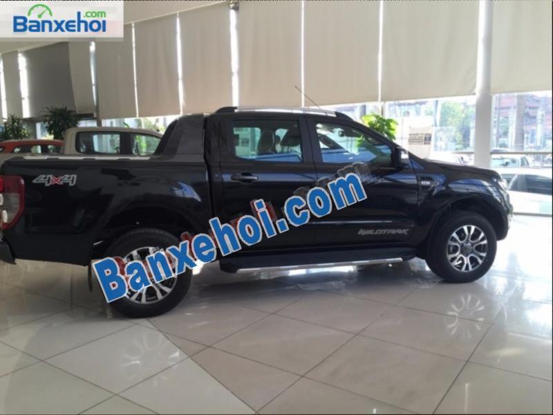 Ford Ranger Wildtrak 3.2 đời 2016, màu đen, nhập khẩu, giá tốt