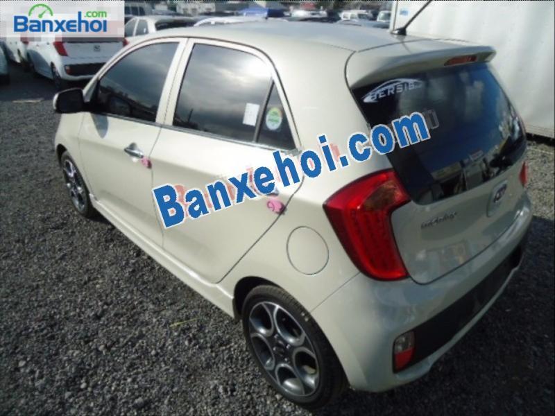 Cần bán Kia Morning 2013, màu kem (be), nhập khẩu nguyên chiếc