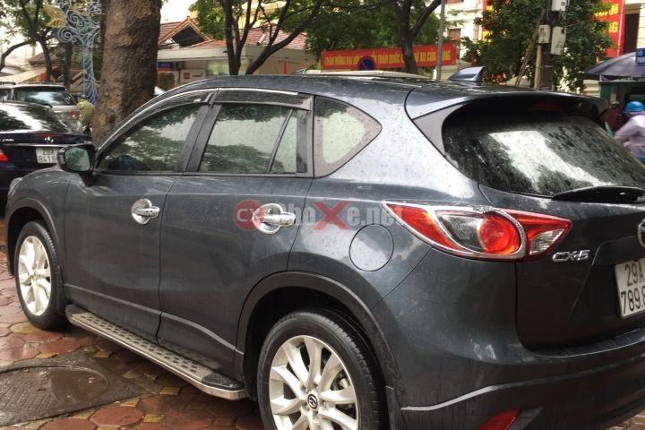 Bán Mazda CX 5 2WD đời 2013, màu xám, số tự động