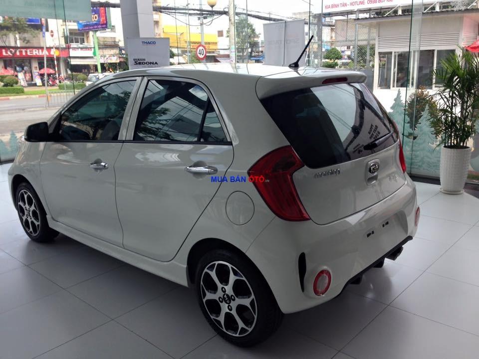 Bán ô tô Kia Morning đời 2016, màu trắng, giá chỉ 420 triệu