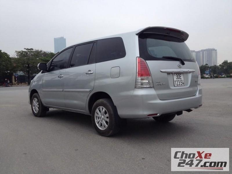Bán Toyota Innova năm 2009, màu bạc, như mới