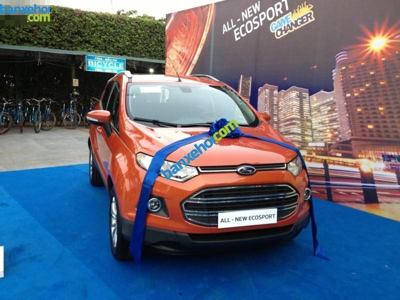 Xe Ford EcoSport Titanium 1.5L AT 2014
