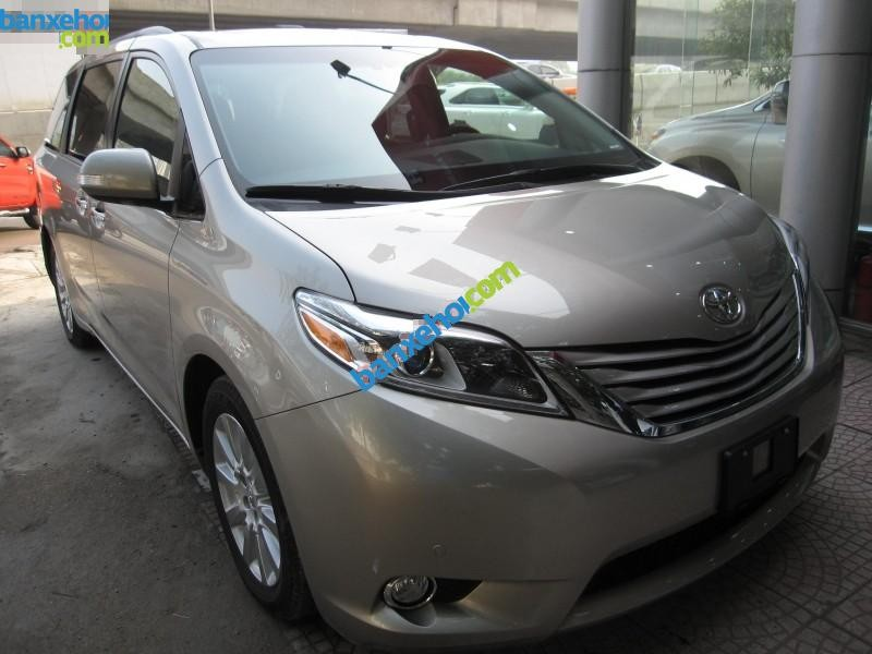 Xe Toyota Sienna 3.5 Limited 2015
