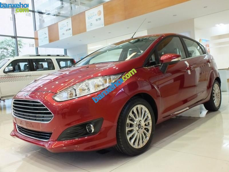 Cần bán xe Ford Fiesta 1.0AT Ecoboost đời 2015, màu đỏ, 659 triệu