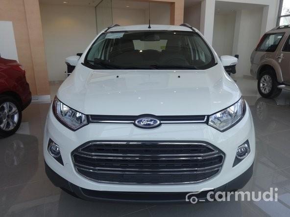 Bán Ford EcoSport 1.5L AT đời 2015, màu trắng, 681 triệu