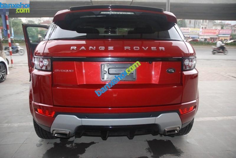 Xe LandRover Range rover Evoque 2012