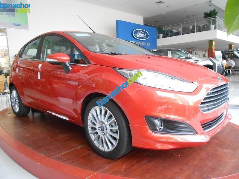 Bán Ford Fiesta 1.5L đời 2015, màu đỏ