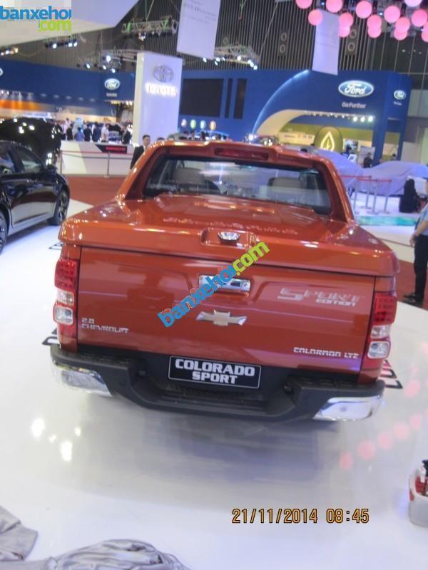 Xe Chevrolet Colorado LTZ 2015