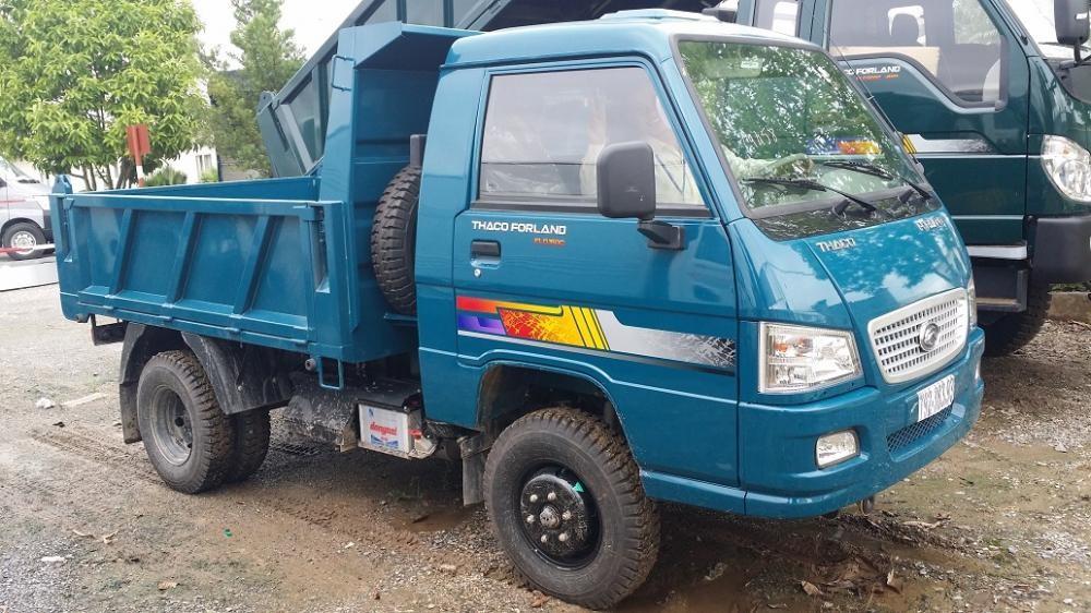 Xe tải ben 2.5 tấn trường hải FLD250c 1,8m3, xe ben 2.5 tấn nâng tải cửu long trường hải vay trả góp 2017
