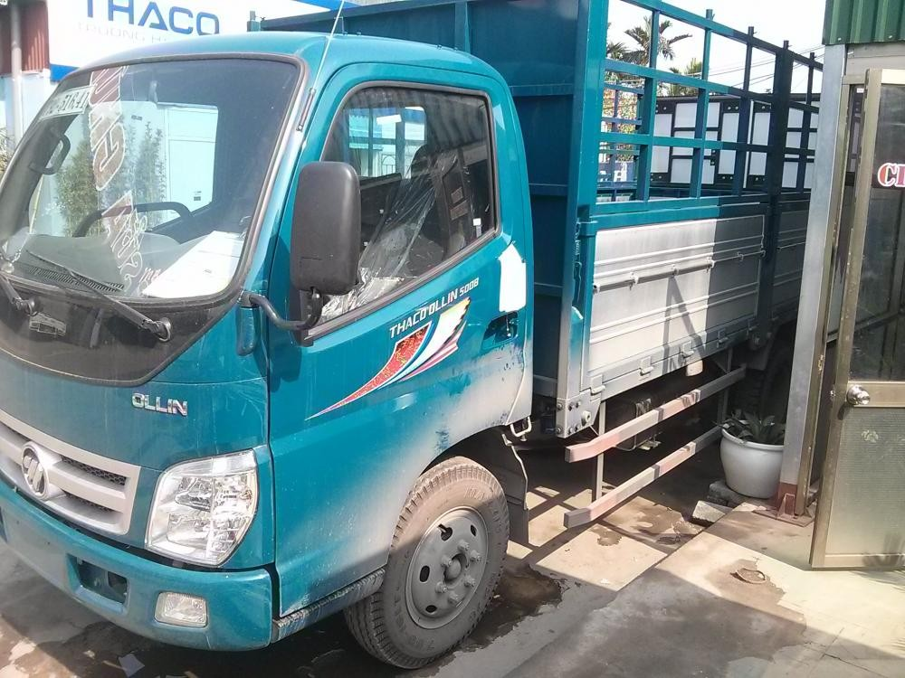 Xe nâng tải 5 tấn Ollin 500B tại Hải Phòng 0936766663