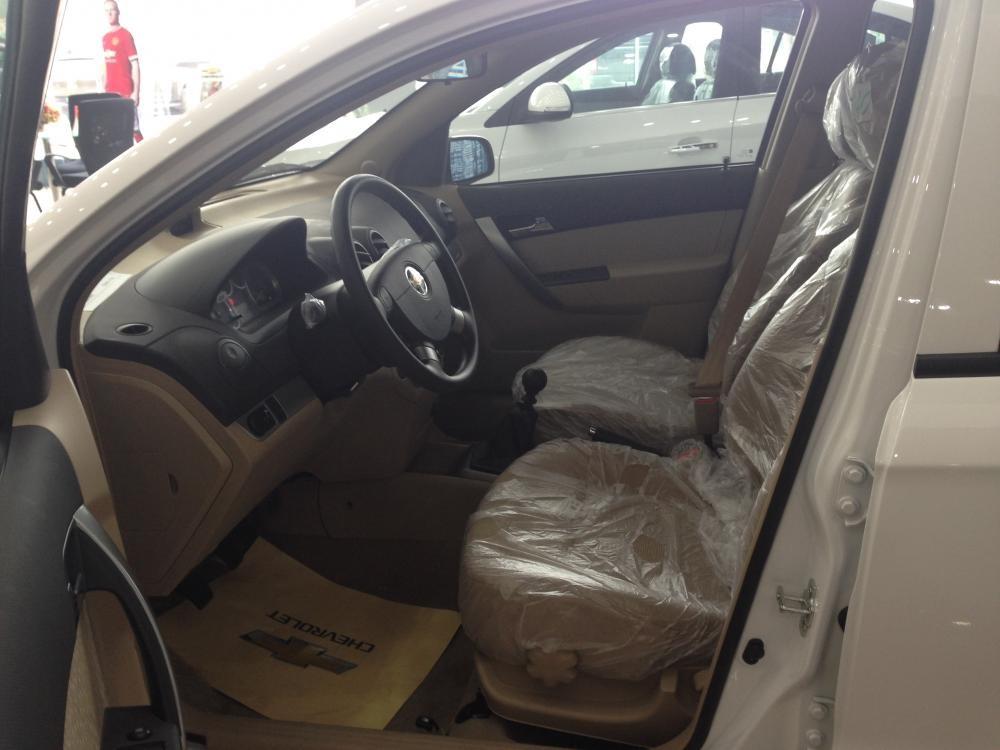 Bán ô tô Chevrolet Aveo LT 2015, màu trắng, hỗ trợ trả góp, đăng ký đăng kiểm