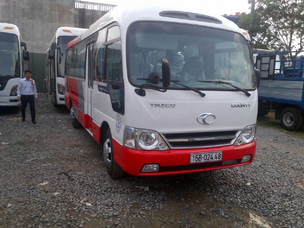 Xe khách 29 chỗ Hải Phòng Hyundai County HB73S