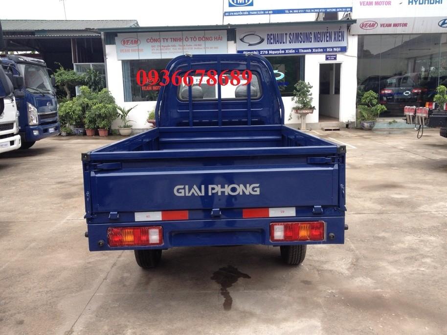 Xe tải Giải Phóng 900 Kg thùng lửng, thùng bạt, thùng kín